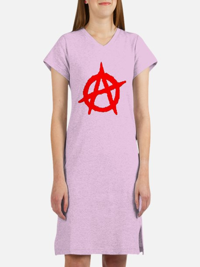 Anarchy Symbol Women's Nightshirt