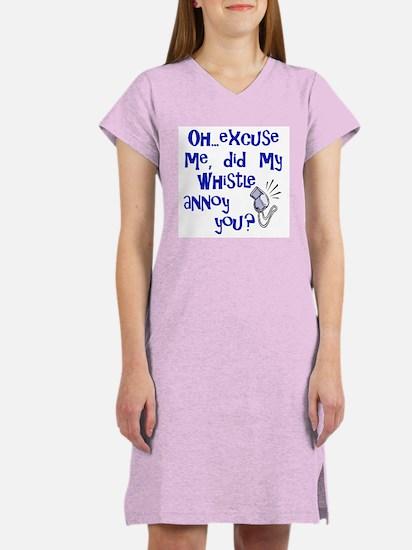 Whistle Annoy Women's Pink Nightshirt