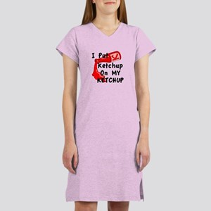 Ketchup Lovers Women's Nightshirt