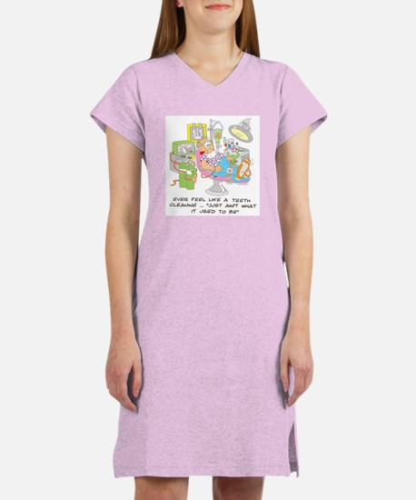 TEETH CLEANING Women's Nightshirt