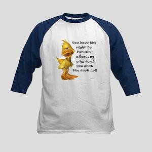 Rude Duck Kids Baseball Jersey