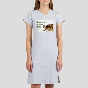 Proud Turtle Wife Women's Nightshirt