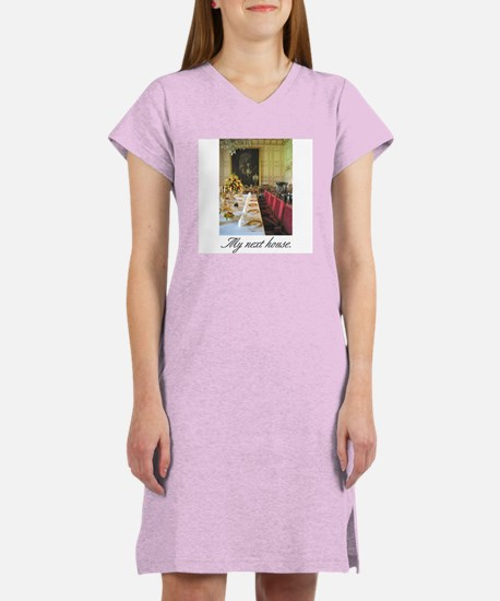"""My Next House"" Women's Nightshirt"