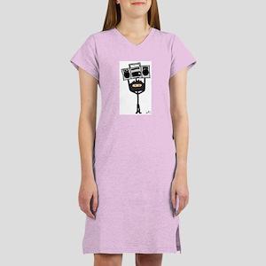 Corduroy Ninja Women's Nightshirt