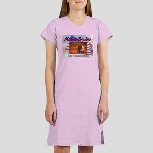 Mother Trucker Women's Nightshirt
