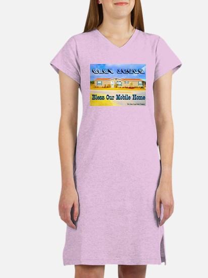 Baby Jesus Women's Pink Nightshirt