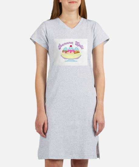 Banana Split Women's Pink Nightshirt