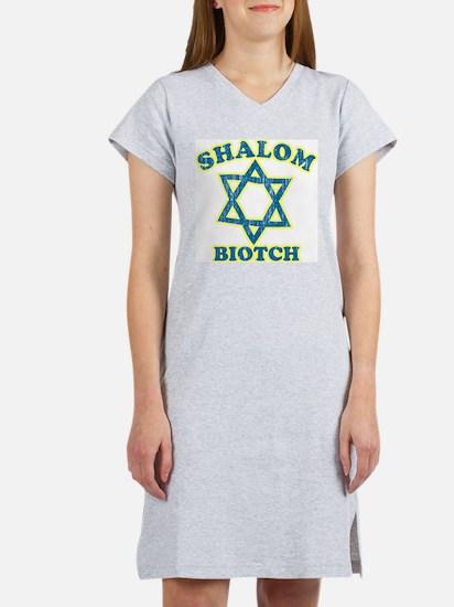 Shalom Biotch Women's Nightshirt