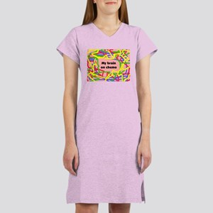 My Brain on Chemo Women's Nightshirt