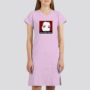 Silence Hides Violence Women's Nightshirt
