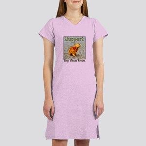Support Trap Neuter Return Women's Nightshirt