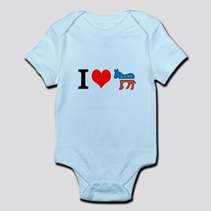 I Love Democrats Infant Bodysuit