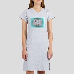 Schweitzer's Cat Women's Nightshirt