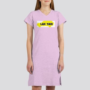 Lax Taxi Yellow Women's Nightshirt