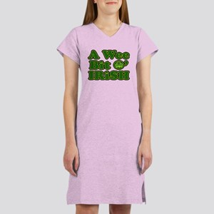 Wee Bit O Irish Women's Nightshirt