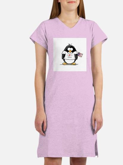 Ohio Penguin Women's Nightshirt