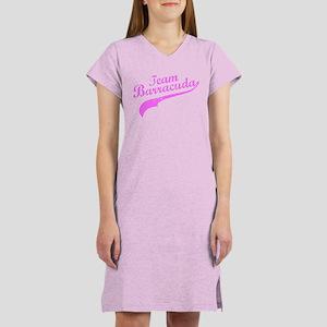 Pink Team Barracuda Women's Nightshirt