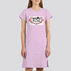 Rugby Bad Ass Women's Nightshirt