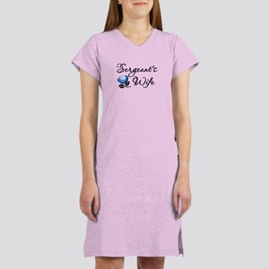 Sergeant's Wife Women's Nightshirt