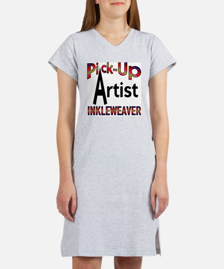 Pick-Up Artist Women's Pink Nightshirt