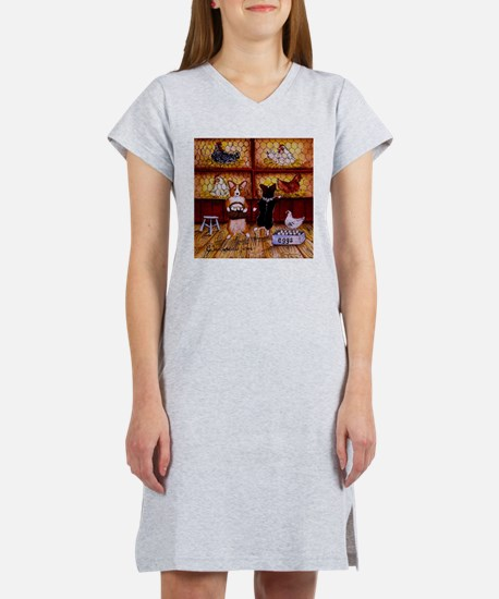All Cooped Up Women's Nightshirt