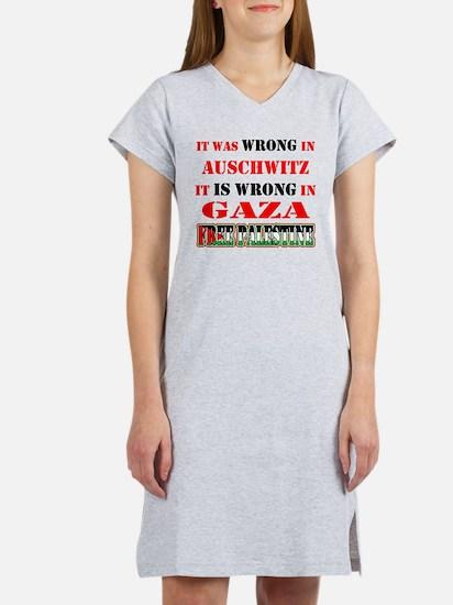 Wrong Is Wrong Women's Nightshirt