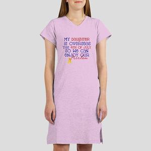 4th of july - daughter Women's Nightshirt