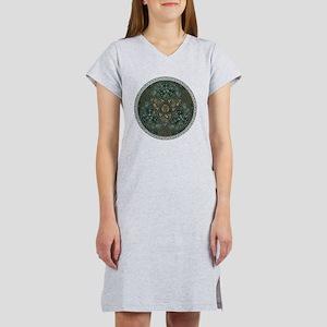 Celtic Trefoil Circle Women's Nightshirt