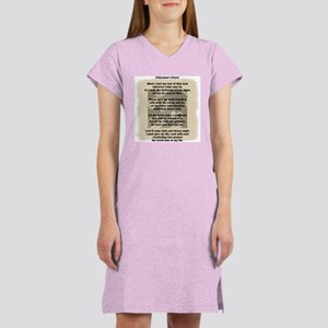 Policeman's Prayer Women's Nightshirt