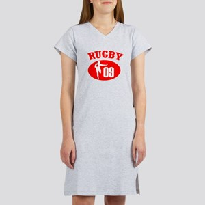 Scrum Halfs Play Rugby Women's Nightshirt