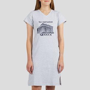Parthenon Athens Women's Nightshirt
