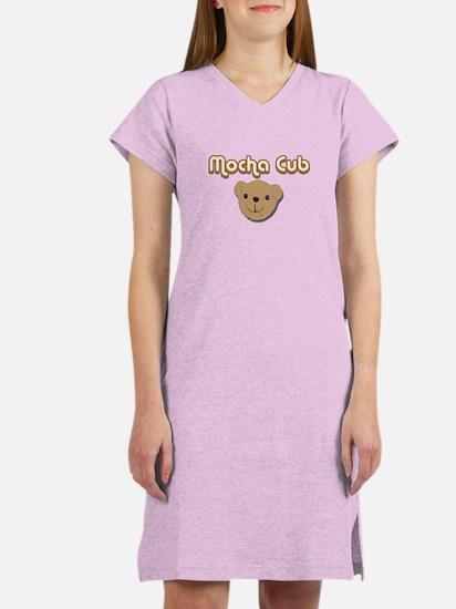 Mocha Cub Women's Nightshirt