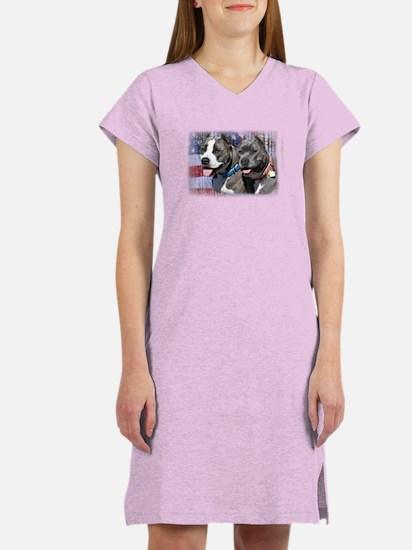 Patriotic Bully Women's Nightshirt
