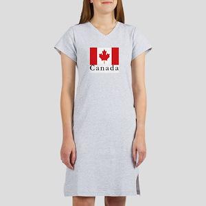 Canada Women's Pink Nightshirt