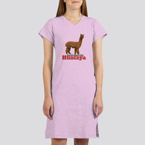It's all about the Huacaya (a Women's Nightshirt