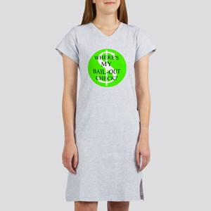 BAIL-OUT CHECK Women's Nightshirt