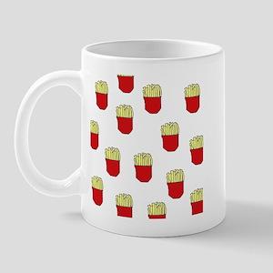 French Fries Dots Mug