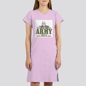 Army Boyfriend Women's Pink Nightshirt