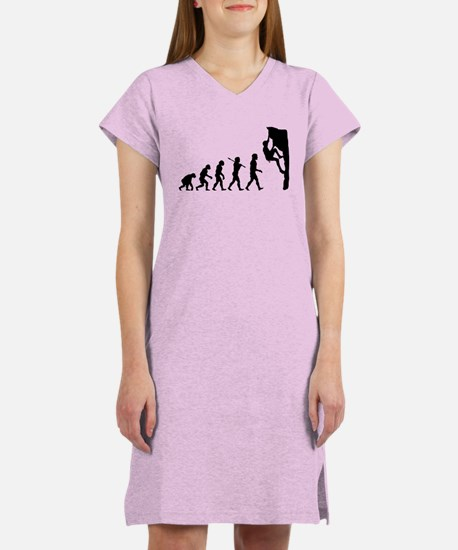 Rock Climber Women's Nightshirt