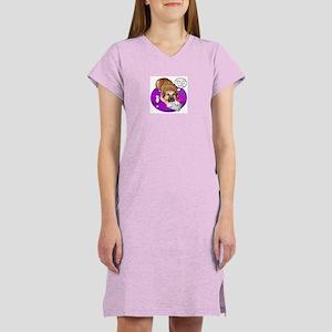 Dear Cupid Nomie Women's Pink Nightshirt