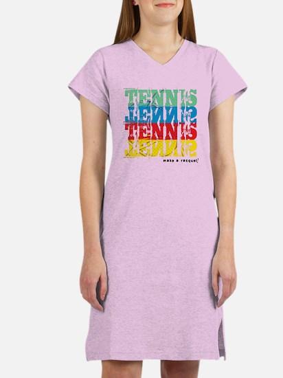 Time to Play Tennis Women's Nightshirt