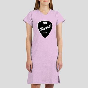 Pick Peace Women's Nightshirt
