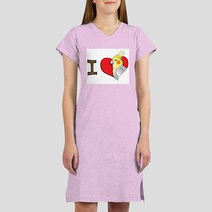 I heart cockatiels Women's Nightshirt