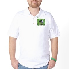 Reality has a Liberal Bias Golf Shirt