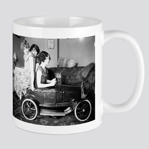 Flappers in a Flivver Mug