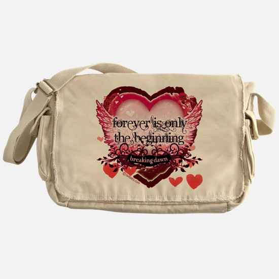 Breaking Dawn Forever by Twibaby Messenger Bag