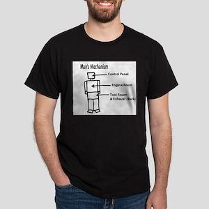 mans mechanism Dark T-Shirt
