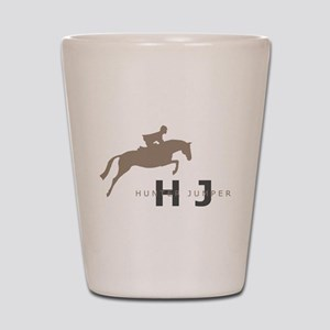 h/j horse Shot Glass