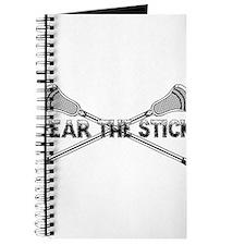 Lacrosse Fear the Stick Journal