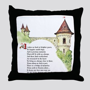 Bridge of Love Throw Pillow